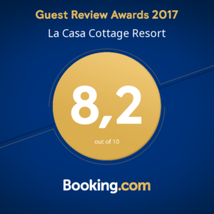 La Casa Booking.com Award