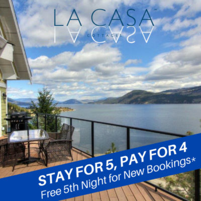 Free 5th Night La Casa