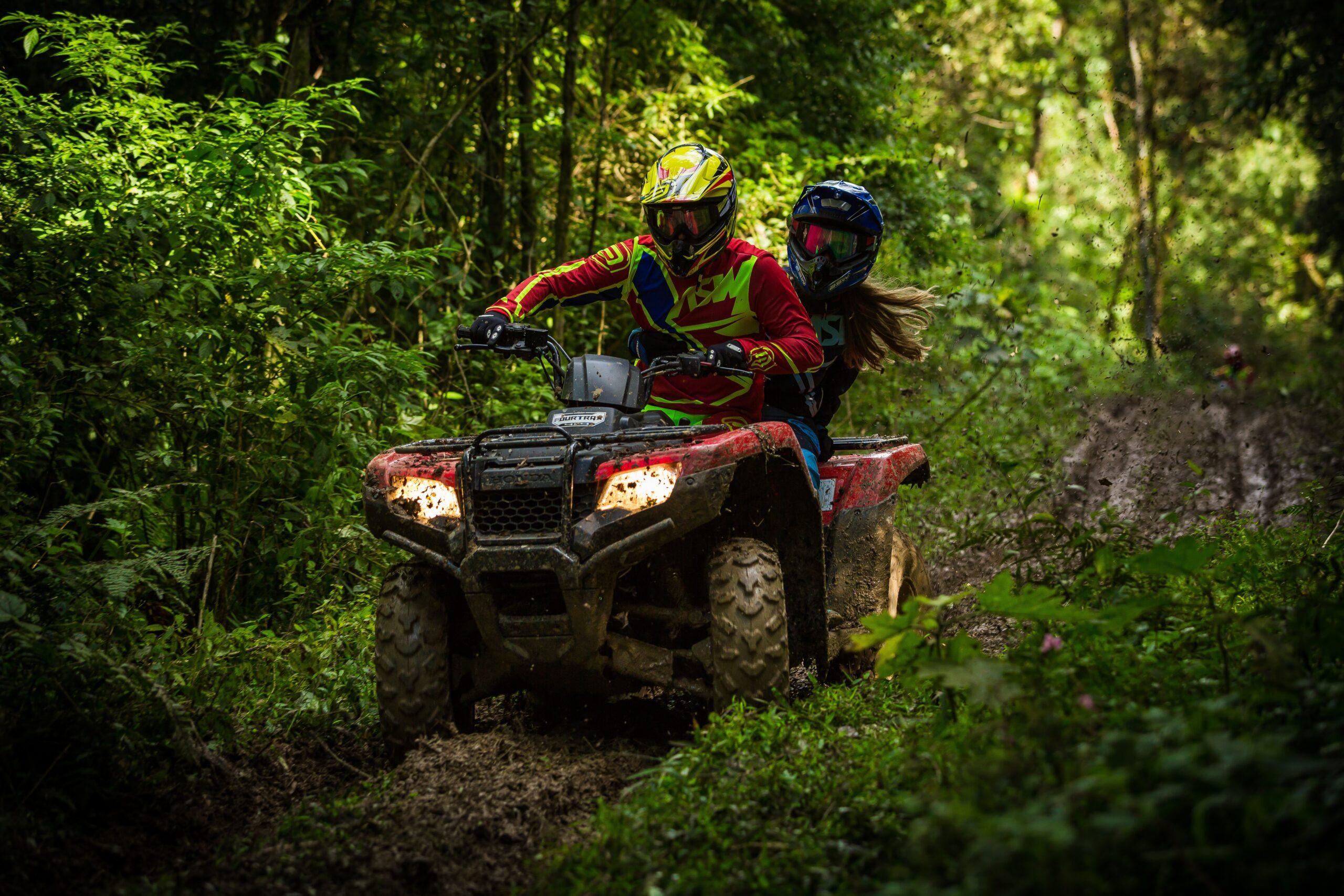 Trail ATV riding